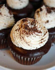 Irish Car Bomb Cupcakes | JavaCupcake.com