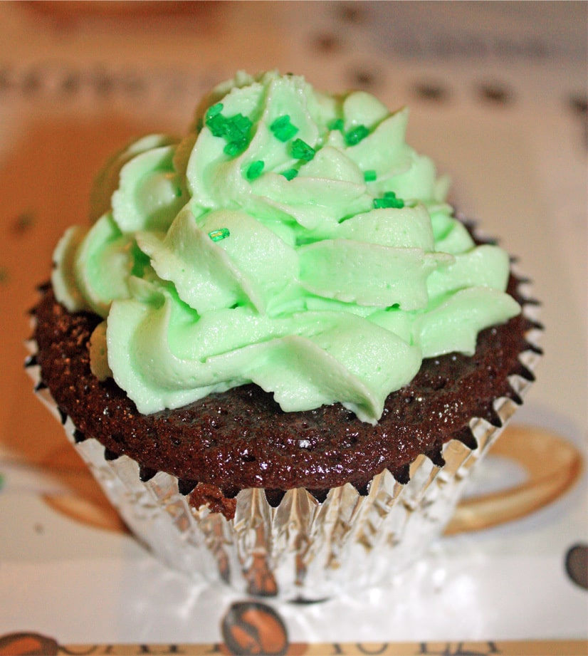 Chocolate Mint Cupcakes - JavaCupcake