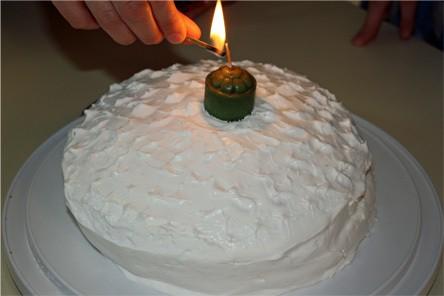 Birthday Cake, Big Sister Style