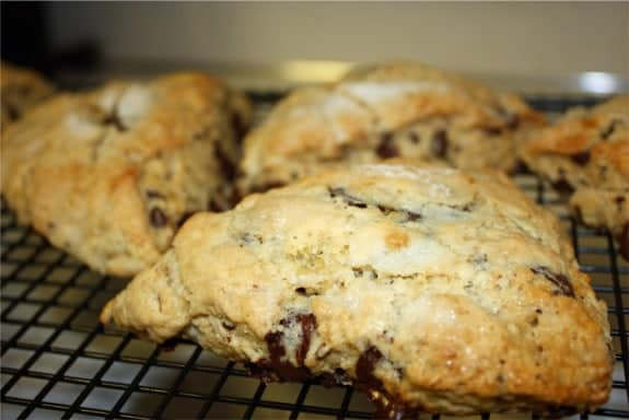 Brown Sugar Chocolate Scones