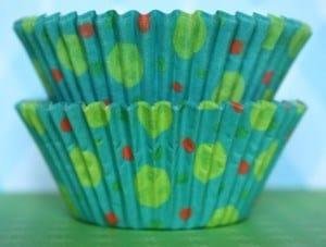 Lime Green Raspberry Birthday Cupcakes | JavaCupcake.com