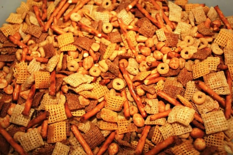 Do you enjoy Chex party mix?
