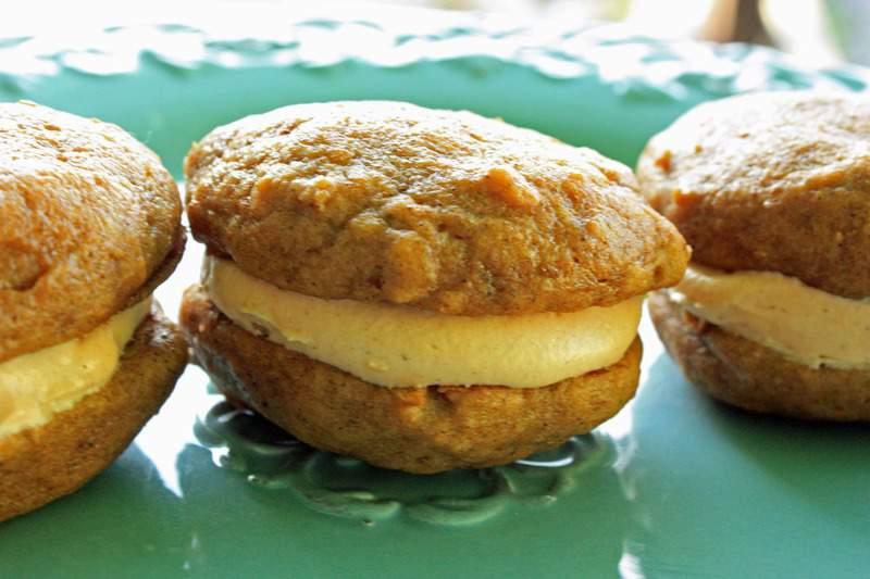 Pumpkin Whoopie Pies - JavaCupcake