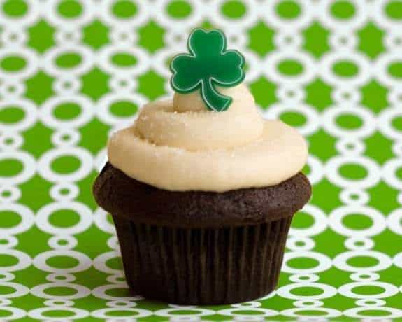 Guinness Stout Cupcake recipe & video from Trophy Cupcakes