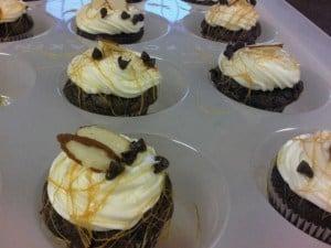 Mini Brownie Cupcakes | JavaCupcake.com