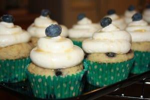 Blueberry Pancake Cupcakes | JavaCupcake.com