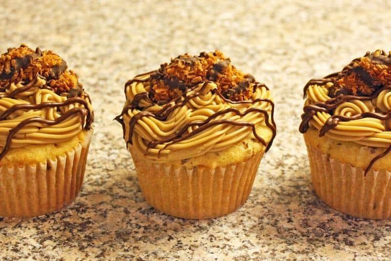 Samoa Cupcakes | The JavaCupcake Blog https://javacupcake.com