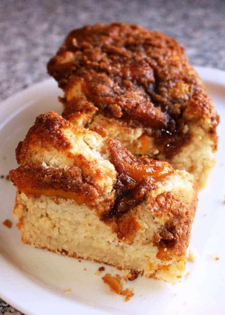 Peach Coffee Cake Recipe Sour Cream