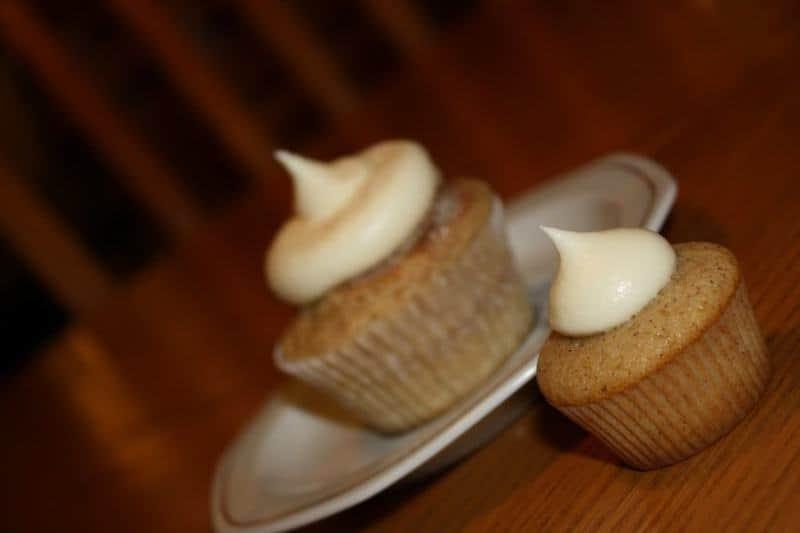 Snickerdoodle Cupcakes | JavaCupcake.com