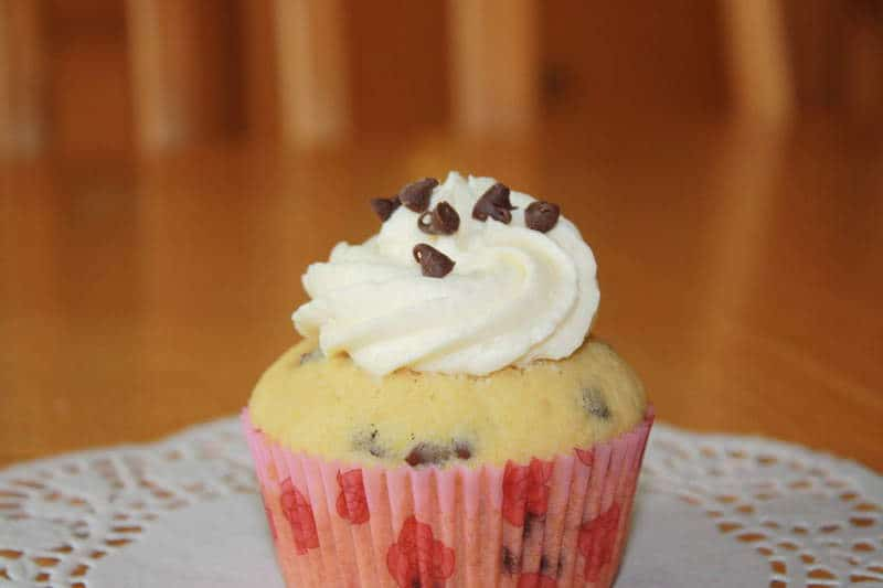 Chocolate Chip Pancake With Maple Syrup Buttercream - The JavaCupcake ...