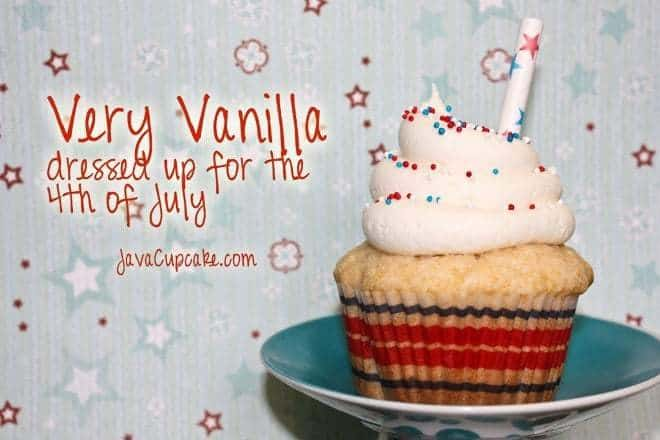 Independence Day Cupcakes | JavaCupcake.com