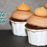 Chocolate Amaretto Mini Cupcakes