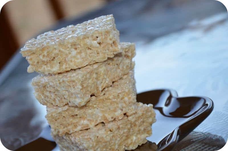 Salted Brown Butter Rice Krispie Treats ( Smitten Kitchen )