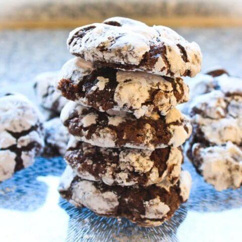 Betty Crocker's 1963 Chocolate Crinkles