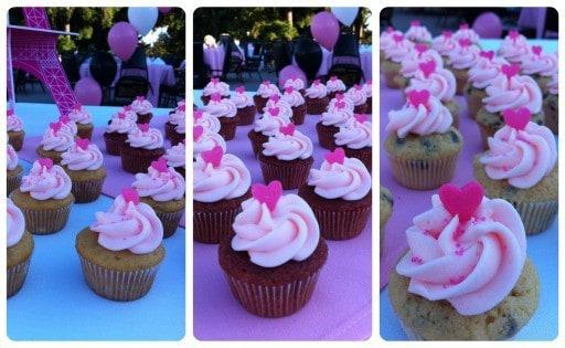 Pink Lemonade Mini Cupcakes | JavaCupcake.com