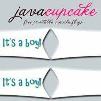 It's a boy! FREE printable
