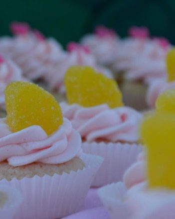 Pink Lemonade Mini Cupcakes