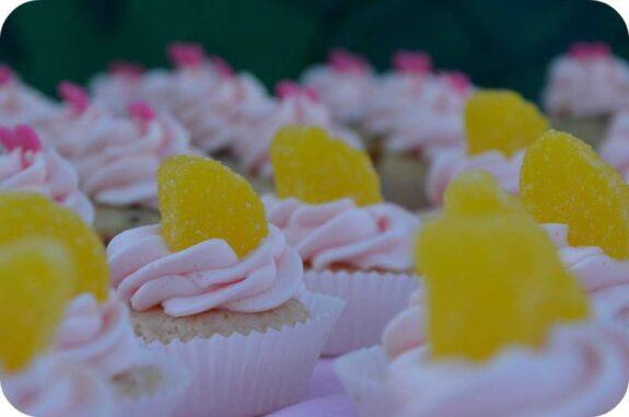 Pink Lemonade Mini Cupcakes