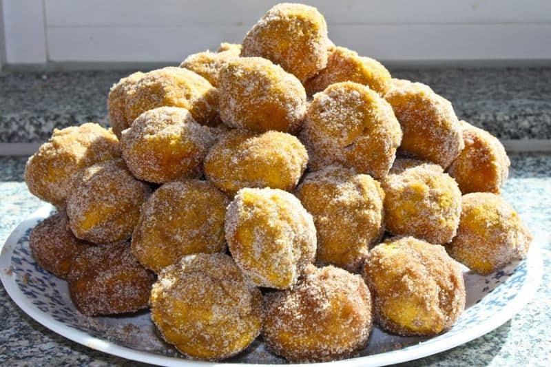 Pumpkin Donut Holes - The JavaCupcake Blog