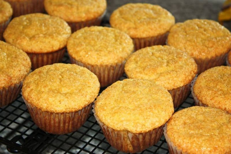 Honey Cornbread Muffins - The JavaCupcake Blog