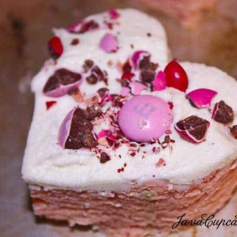 Sweetheart Sugar Cookie Bars