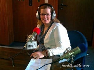 Listen to me on AFN Bavaria Radio!  | JavaCupcake.com