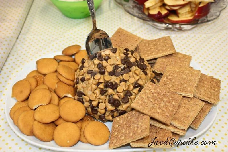 Peanut Butter Cheese Ball   JavaCupcake.com