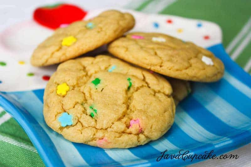 Cake Batter & Pudding Cookies