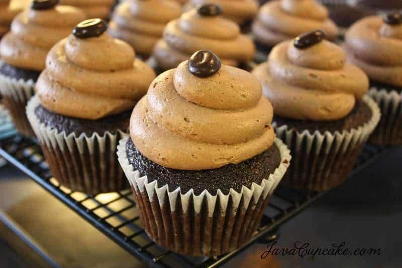 Mocha Mocha Cupcakes