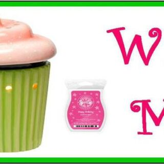 Giveaway! Cupcake Mid-Size Scentsy Warmer