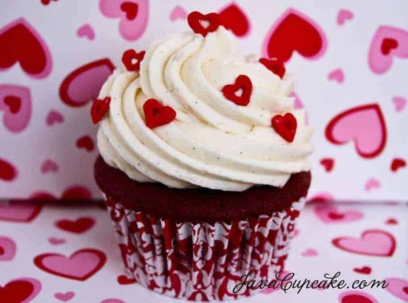 Happy Valentine's Day! Red Velvet Love Cupcakes