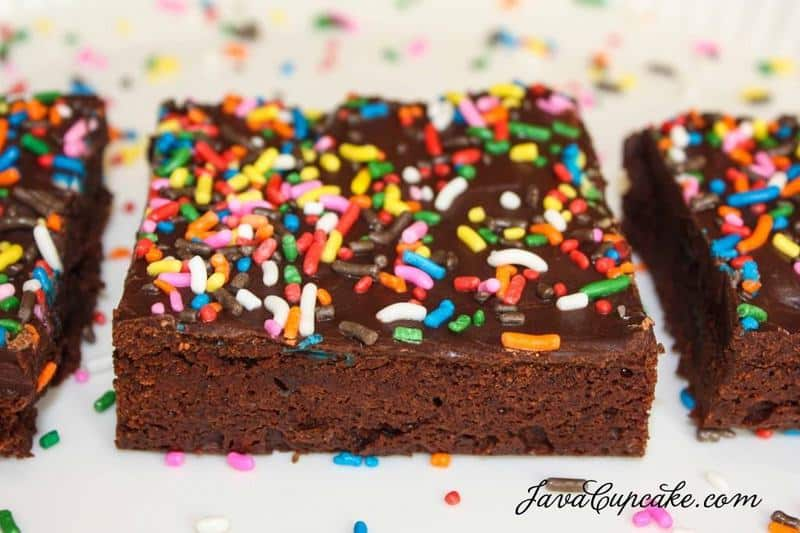 Cosmic Brownies | JavaCupcake.com