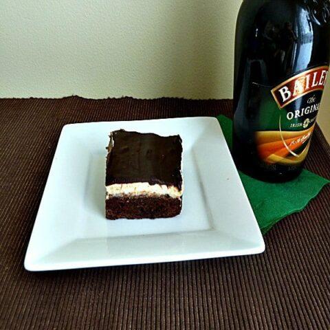 """""""Let Momma Get Some Sleep!"""" Blog Series: Irish Cream Brownies with Chocolate Irish Cream Ganache"""