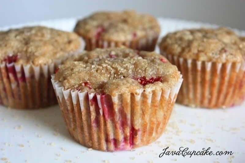 Peanut Butter & Jelly Banana Muffins & a Baby Play Date | JavaCupcake.com