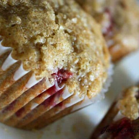Peanut Butter & Jelly Banana Muffins & a Baby Play Date