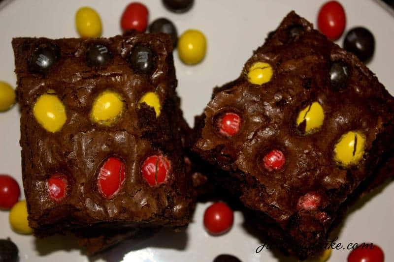 Peanut M&M Brownies