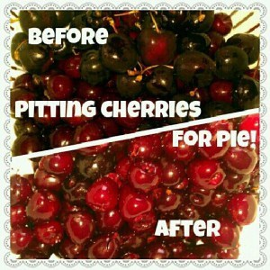 Homemade Cherry Pie Filling | JavaCupcake.com