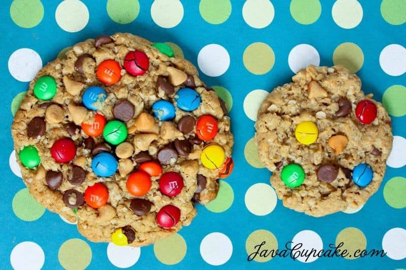 Desserts for the Deserving: Monster Cookies | JavaCupcake.com