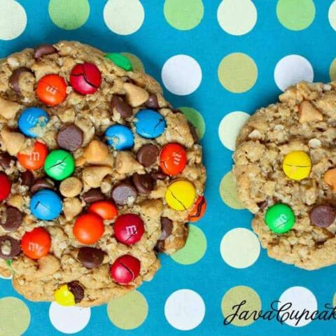 Desserts for the Deserving: Monster Cookies