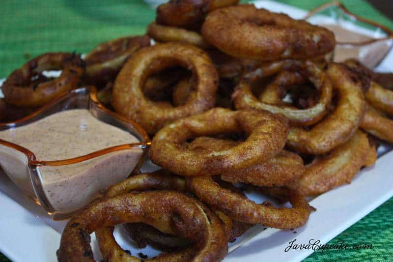 Oktoberfest Beer Batter Onion Rings by JavaCupcake-4
