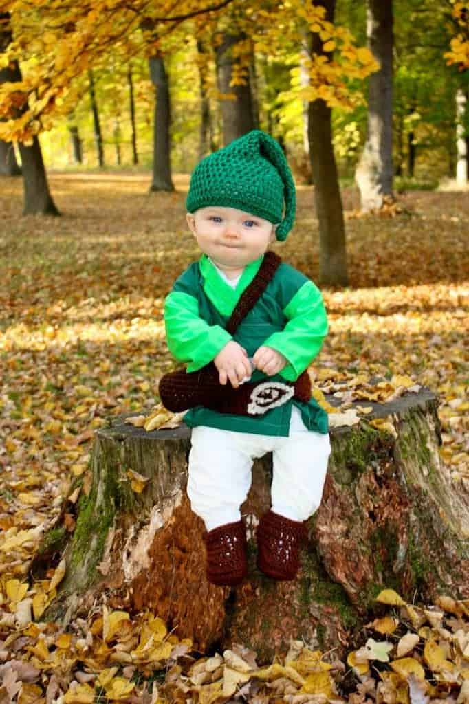 Baby Link from Legend of Zelda Costume | JavaCupcake.com
