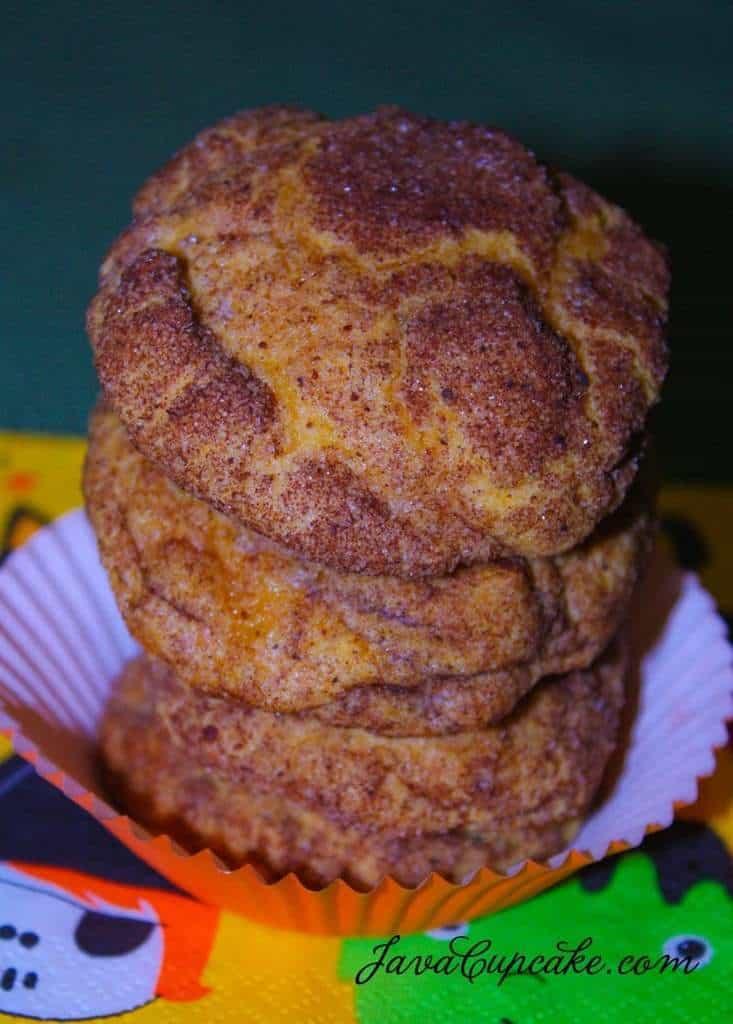 Pumpkin Snickerdoodles | JavaCupcake.com