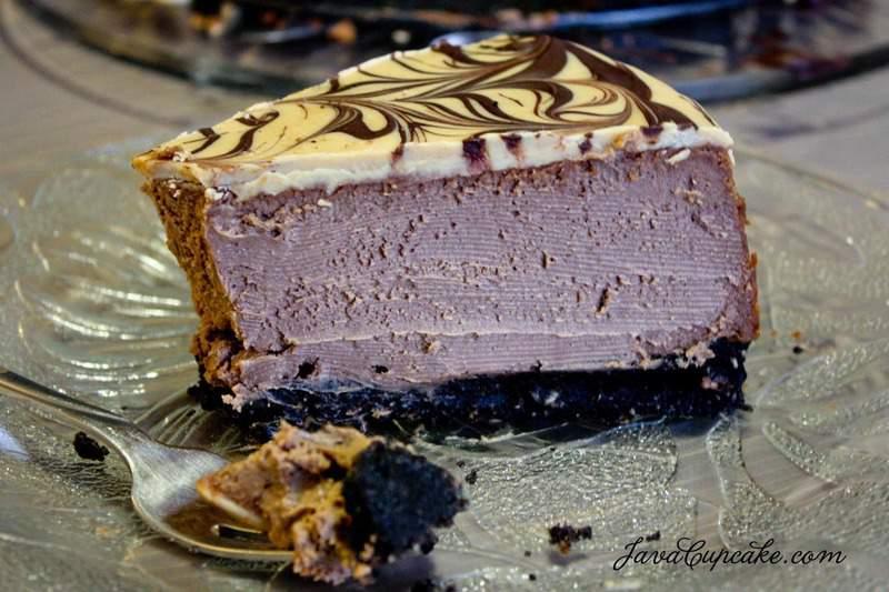 Peanut Butter Chocolate Cheesecake by JavaCupcake.com-3