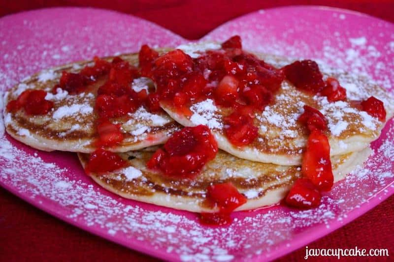 Strawberry Overload Pancakes by JavaCupcake