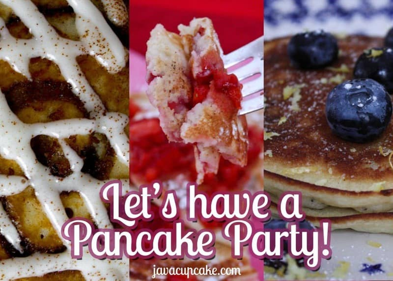 Let's Have a Pancake Party! by JavaCupcake.com