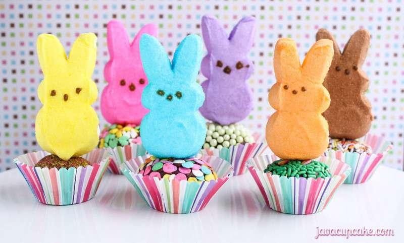 Hop Along PEEPS Party | PEEPS Truffles by JavaCupcake