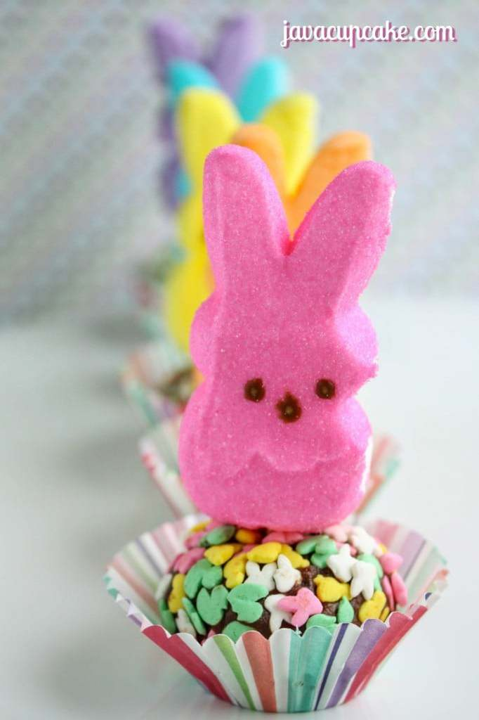 Spring Hop Along PEEPS Party - PEEPS Truffles by JavaCupcake