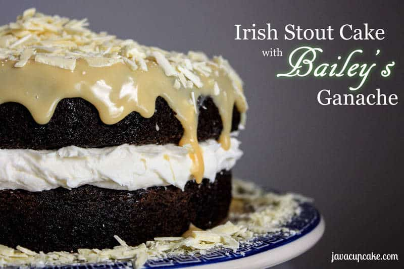 Chocolate Guinness Stout Cake With Bailey