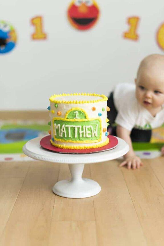 Happy 1st Birthday Matthew!