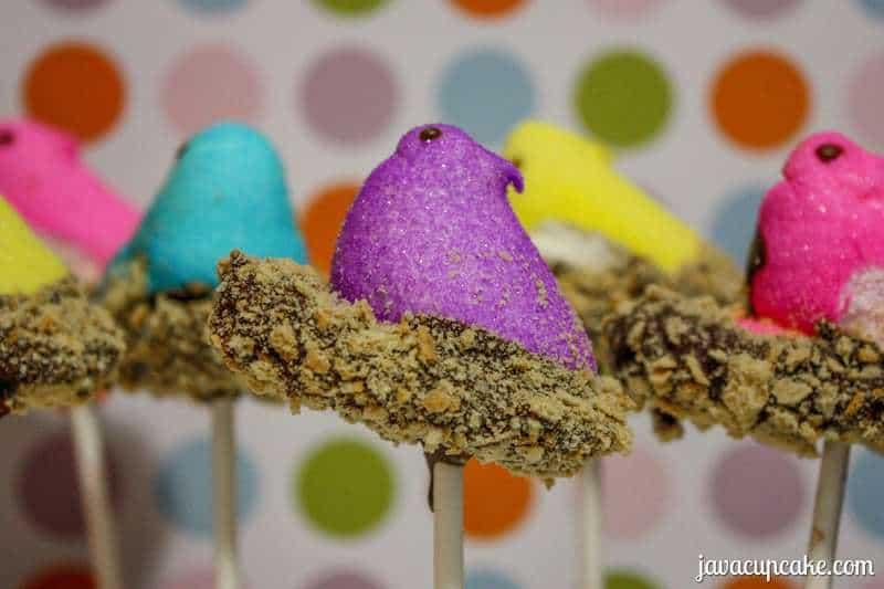 Smores Peeps Pops by JavaCupcake